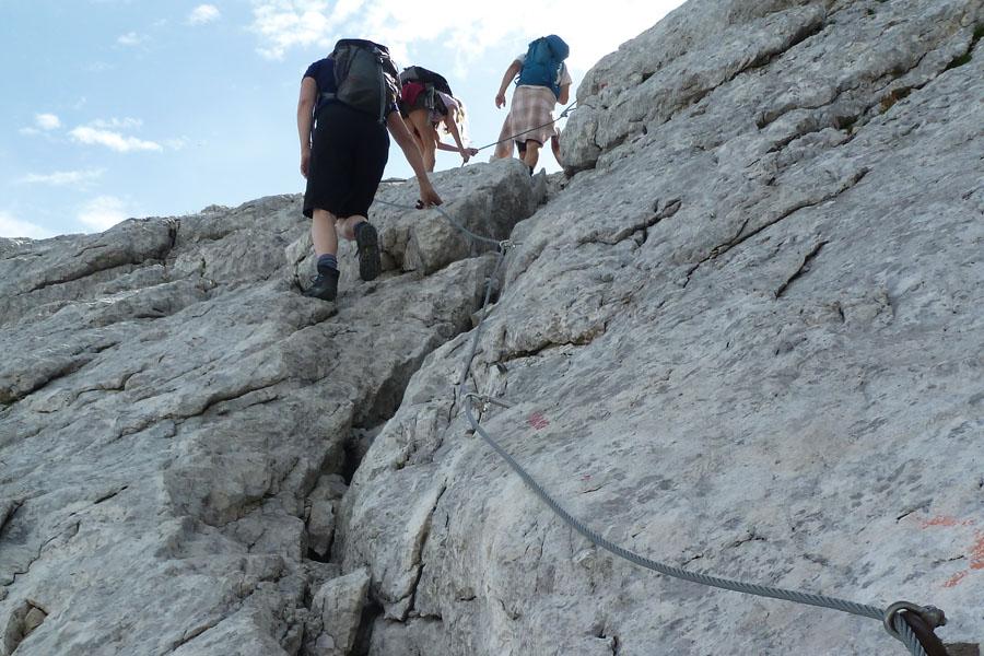 Bergwanderung auf den Mangart (IT/SLO)