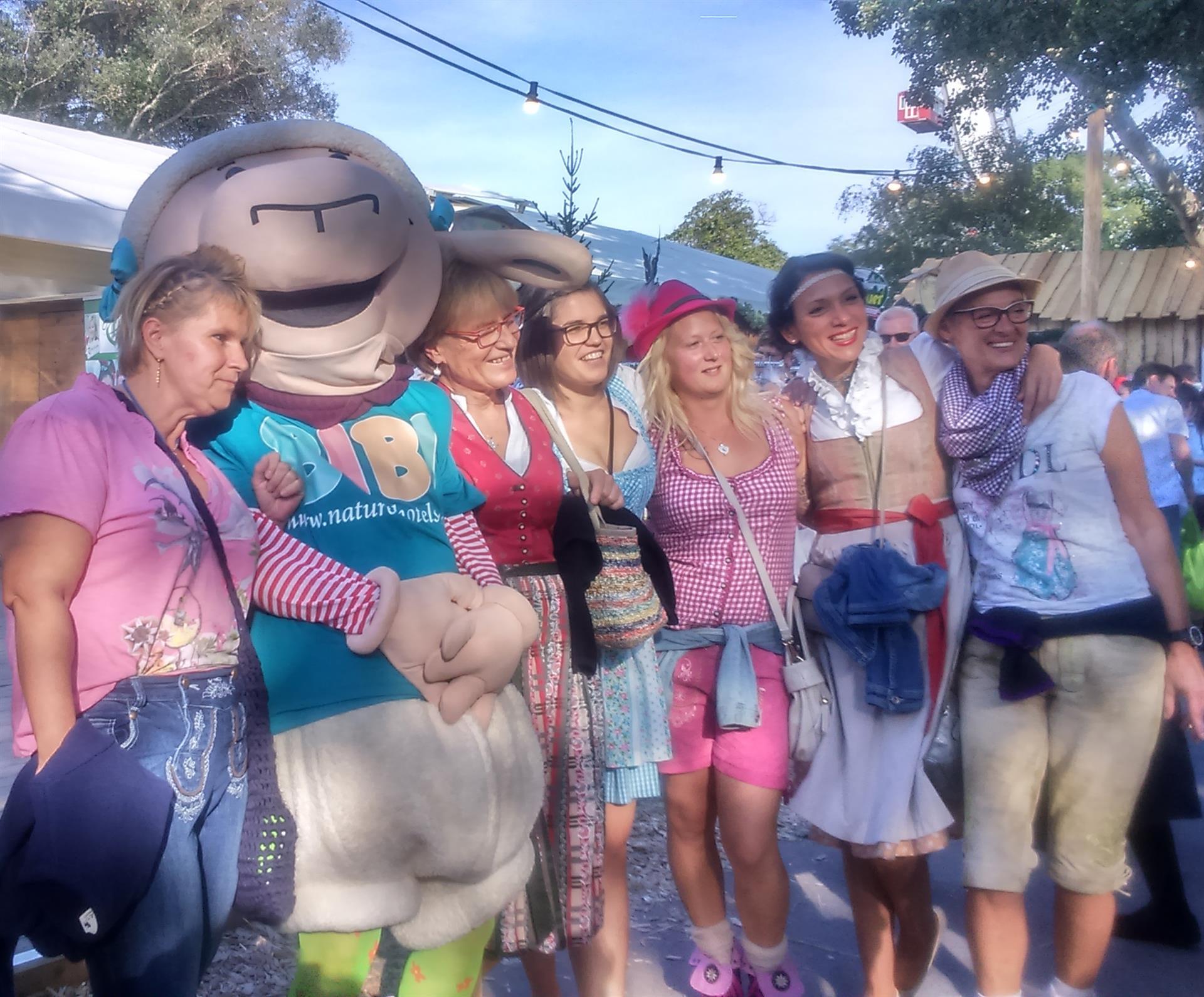 Auf der Kinder Wiesn am Wiener Wiesn Fest