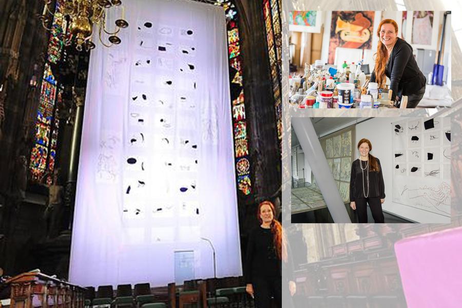 Lebendiger Stein, ein Kunstprojekt von Lisa Huber