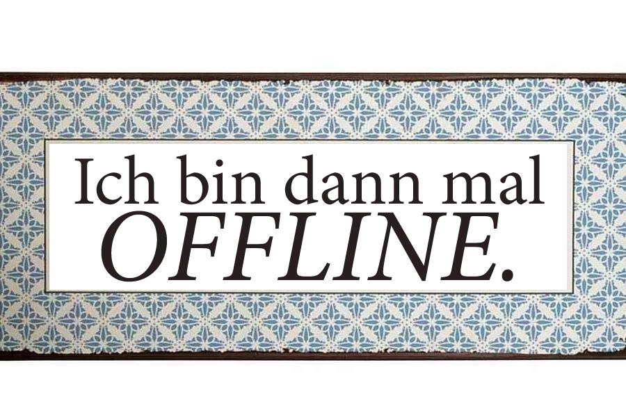 Ein Tag ohne Internet oder wie nett es ohne Netz in Schönleitn ist