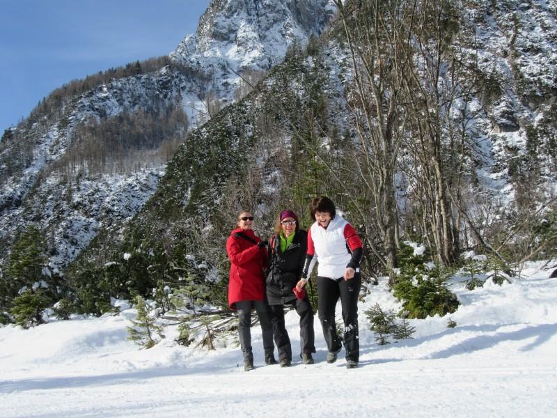 Wanderung zur Tamar Hütte in Slowenien