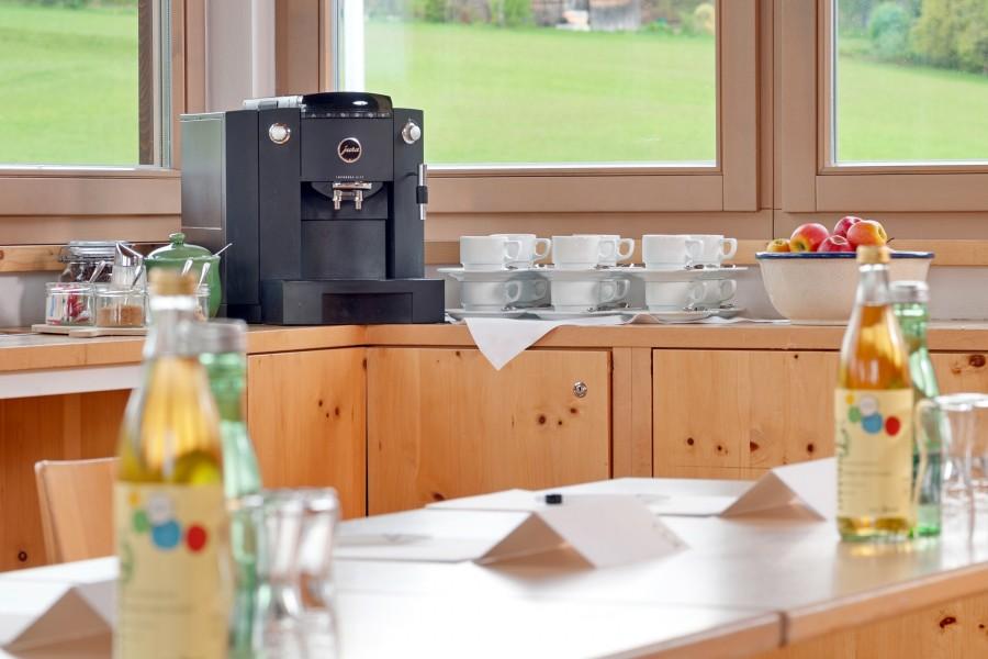 Kaffee und Snacks, Seminarhotel Kärnten