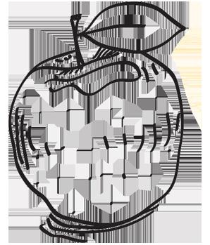 gezeichneter Apfel, Naturel Hotels