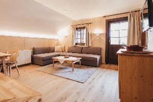 Wohnraum - Schlafsofas - Appartement Felsenfest
