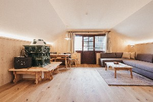 Suite Wolkenlos Wohnraum mit Ess-Ecke