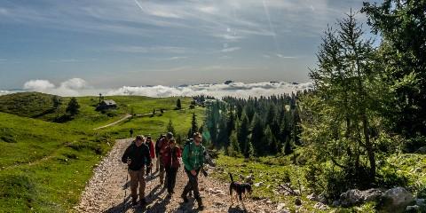 Dobratsch Wanderung Schöleitn
