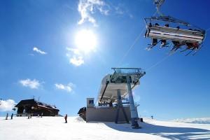 Skilift auf der Gerlitzen Alpe