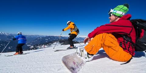 Skifahren & Snowboarden im Winterurlaub Kärnten