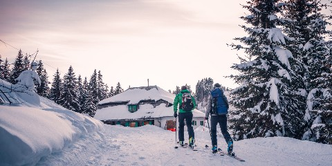Ski-Tour Dreiländereck