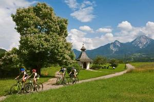 Naturerlebnis bei Radtour, Naturel Hotels