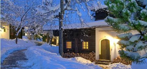 Dorf Schönleitn Winter