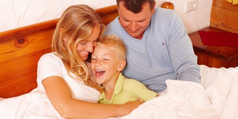 Kuschelzeit mit der Familie in den Naturel Hotels