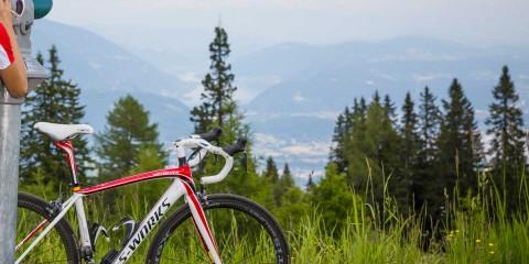 Bike-Pause in der Region Villach