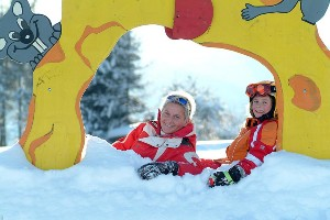 Skipause am Kinderskihügel
