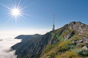 Gipfel des Villacher Hausberges Dobratsch