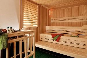 Innenansicht Sauna, Hoteldorf SCHÖNLEITN