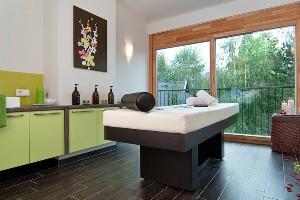 Massageraum, Hoteldorf SCHÖNLEITN