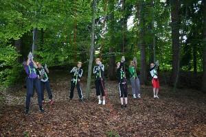 Jugendclub Teambuilding im Hochseilgarten Naturel
