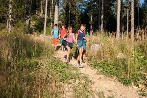 Beim Wandern mit dem Jugendguide in den Karawanken