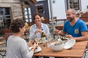 Miesmuschel Dinner mit Freunden, Hoteldorf SCHÖNLEITN