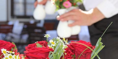 hochzeitliche Blumensträuße im Naturel Hotel