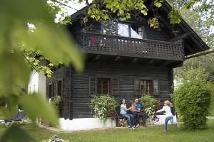 Toben mit der Familie im Hoteldorf SCHÖNLEITN
