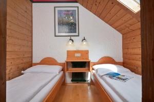 Appartement Berge Schlafzimmer