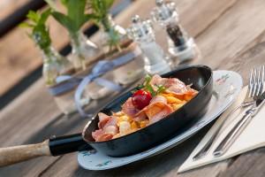 Frühstück im Naturel Hoteldorf