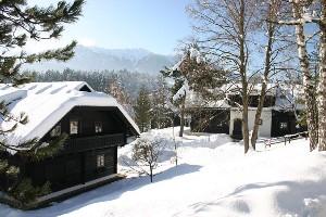 Hoteldorf SCHÖNLEITN Winteransicht