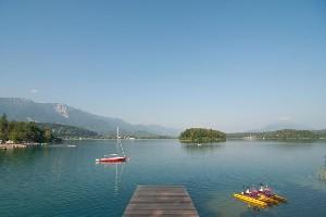 Hoteldorf SEELEITN Badesteg Faaker See