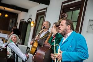 Musiker im Naturel Hotel