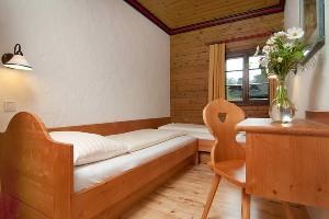 Einzelbetten im Hoteldorf Faaker See